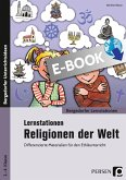 Lernstationen Religionen der Welt (eBook, PDF)