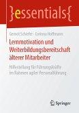 Lernmotivation und Weiterbildungsbereitschaft älterer Mitarbeiter (eBook, PDF)