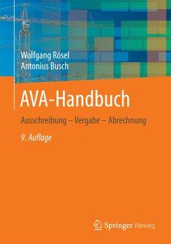 AVA-Handbuch (eBook, PDF) - Rösel, Wolfgang; Busch, Antonius