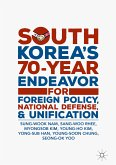 South Korea's 70-Year Endeavor for Foreign Policy, National Defense, and Unification (eBook, PDF)