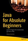 Java for Absolute Beginners (eBook, PDF)