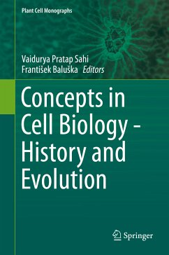 Concepts in Cell Biology - History and Evolution (eBook, PDF)