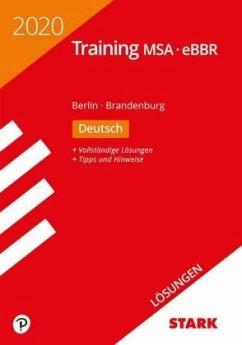 STARK Lösungen zu Training MSA/eBBR 2020 - Deutsch - Berlin/Brandenburg