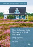 Mass Strikes and Social Movements in Brazil and India (eBook, PDF)