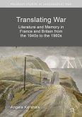 Translating War (eBook, PDF)