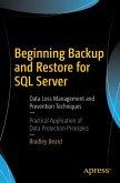 Beginning Backup and Restore for SQL Server (eBook, PDF)