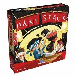 Asmodee BLO0012 - Blue Orange, MAKI STACK, Geschicklichkeitsspiel