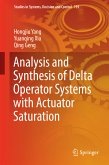 Analysis and Synthesis of Delta Operator Systems with Actuator Saturation (eBook, PDF)