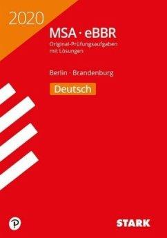 STARK Original-Prüfungen MSA/eBBR 2020 - Deutsch - Berlin/Brandenburg