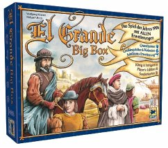Asmodee HIGD1005 - El Grande Big Box (Spiel des Jahres 1996 mit ALLEN Erweiterungen)
