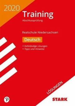 Lösungen zu Training Abschlussprüfung Realschule 2020 - Deutsch - Niedersachsen