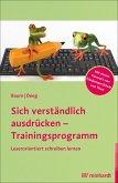 Sich verständlich ausdrücken - Trainingsprogramm (eBook, ePUB)
