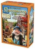 Carcassonne, Abtei & Bürgermeister (Spiel-Zubehör)