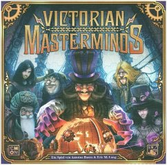 Asmodee CMND0092 - Victorian Masterminds, Brettspiel