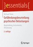 Gefährdungsbeurteilung psychischer Belastungen (eBook, PDF)