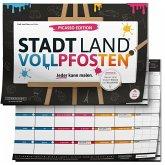 DENKRIESEN - Stadt Land VOLLPFOSTEN® - Picasso Edition - Mal Stadt Land FLUSS ZUM MALEN