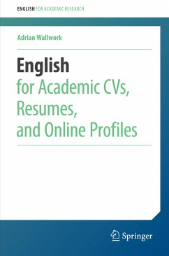 English for Academic CVs, Resumes, and Online Profiles (eBook, PDF) - Wallwork, Adrian