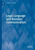 Legal Language and Business Communication (eBook, PDF)