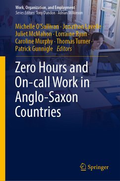 Zero Hours and On-call Work in Anglo-Saxon Countries (eBook, PDF)