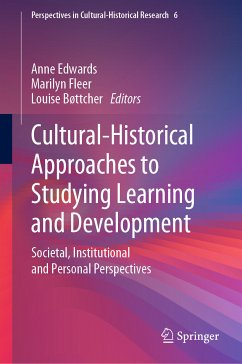 Cultural-Historical Approaches to Studying Learning and Development (eBook, PDF)
