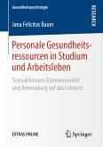 Personale Gesundheitsressourcen in Studium und Arbeitsleben (eBook, PDF)