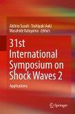 31st International Symposium on Shock Waves 2 (eBook, PDF)