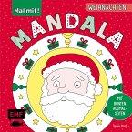 Mal mit! Mandala - Weihnachten (Mängelexemplar)