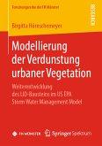 Modellierung der Verdunstung urbaner Vegetation (eBook, PDF)