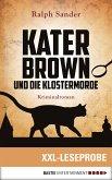 XXL-Leseprobe: Kater Brown und die Klostermorde (eBook, ePUB)