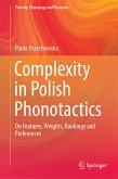 Complexity in Polish Phonotactics (eBook, PDF)