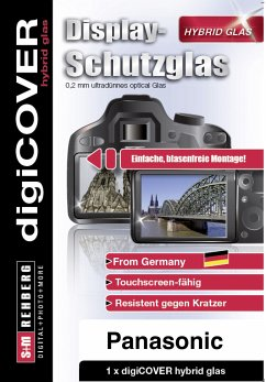 digiCOVER Hybrid Glas Display Schutz Panasonic TZ96