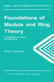 Foundations of Module and Ring Theory (eBook, ePUB)