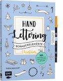Handlettering-Schmuckelemente Christmas - 999 Vorlagen zum Nachzeichnen und Abpausen (Mängelexemplar)