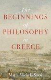 The Beginnings of Philosophy in Greece (eBook, PDF)