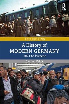 A History of Modern Germany (eBook, ePUB) - Orlow, Dietrich