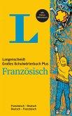 Langenscheidt Großes Schulwörterbuch Plus Französisch