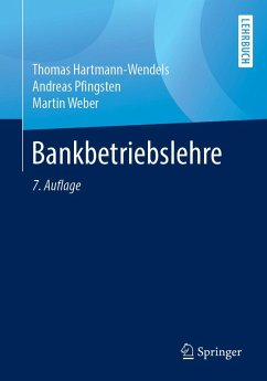 Bankbetriebslehre (eBook, PDF) - Pfingsten, Andreas; Hartmann-Wendels, Thomas; Weber, Martin