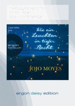 Wie ein Leuchten in tiefer Nacht, 1 MP3-CD (DAISY Edition) - Moyes, Jojo