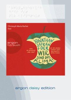 Wir sind das Klima!, DAISY-Format, 1 Audio-CD - Foer, Jonathan Safran