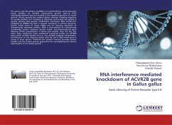 RNA interference mediated knockdown of ACVR2B gene in Gallus gallus