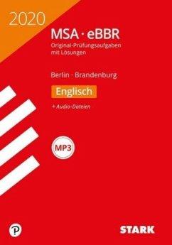 STARK Original-Prüfungen MSA/eBBR 2020 - Englisch - Berlin/Brandenburg