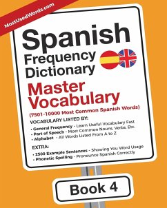 Spanish Frequency Dictionary - Master Vocabulary - Mostusedwords