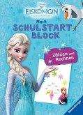 Disney Die Eiskönigin Mein Schulstartblock: Zählen und Rechnen (Mängelexemplar)
