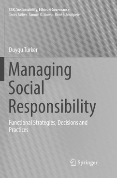 Managing Social Responsibility - Turker, Duygu