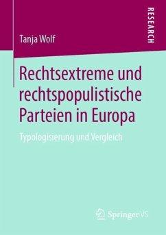 Rechtsextreme und rechtspopulistische Parteien in Europa - Wolf, Tanja