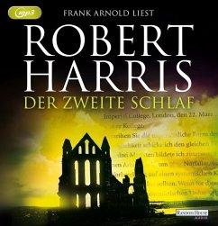 Der zweite Schlaf, 2 MP3-CDs - Harris, Robert