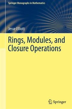 Rings, Modules, and Closure Operations - Elliott, Jesse