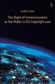 The Right of Communication to the Public in EU Copyright Law (eBook, PDF)