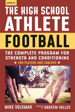 The High School Athlete: Football (eBook, ePUB) - Volkmar, Michael