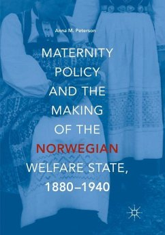 Maternity Policy and the Making of the Norwegian Welfare State, 1880-1940 - Peterson, Anna M.
